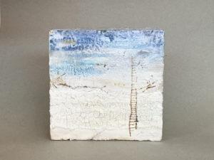 Quadre ceràmic abstracte. Peça única